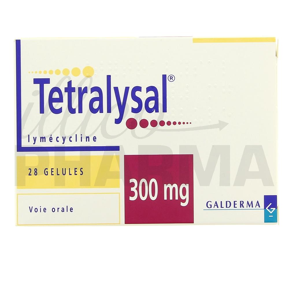 Tetralysal 300mg 28gél - Antibiotiques systémiques