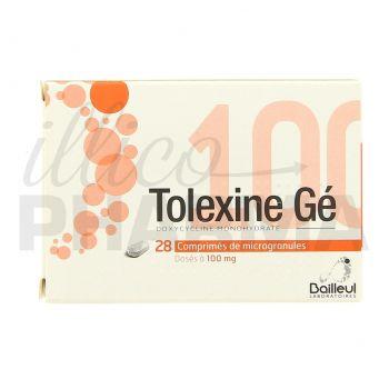 Tolexine Gé 100mg 28cpr - Antibiotiques systémiques