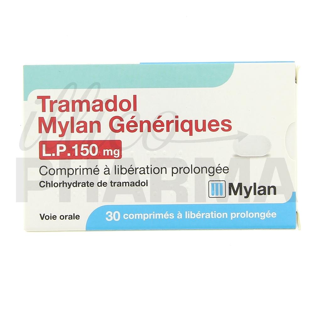 Médicament Tramadol Mylan LP 150mg 30cpr - Analgésiques