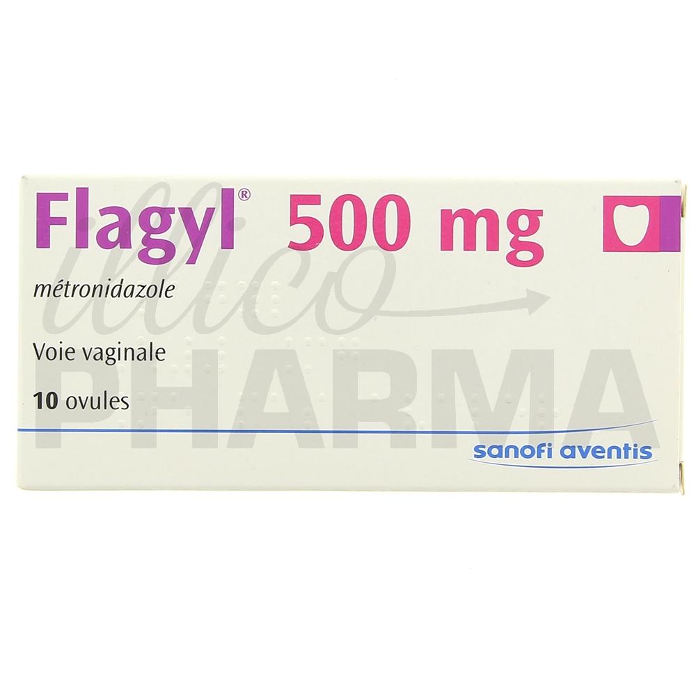 Médicament Flagyl ovule - Antiinfectieux gynécologiques
