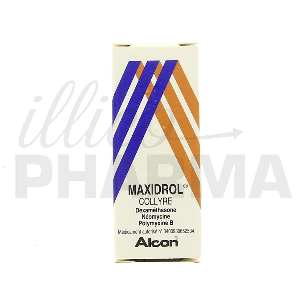 Médicament Maxidrol collyre - Produits ophtalmologiques