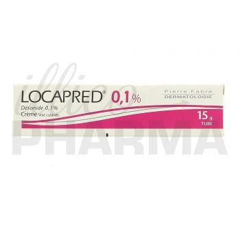 Médicament Locapred crème - Corticoïdes à usage topique