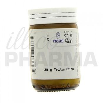 Cinis urticae ferro cultae D3 trituration Weleda