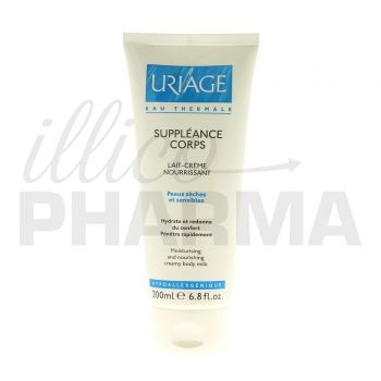 Suppleance Lait corps Uriage 200ml - Soins corps