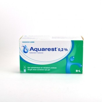 Aquarest 0,2% Gel ophtalmique 60 unidoses