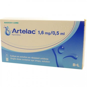 Artelac Collyre 60 unidoses 0,5ml
