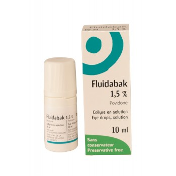Fluidabak 1,5% Collyre 10ml