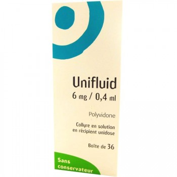 Unifluid 6mg collyre 36 unidoses