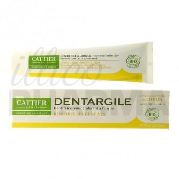 Dentifrice Dentargile Citron Cattier 100g
