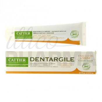 Dentifrice Dentargile Sauge Cattier 100 g