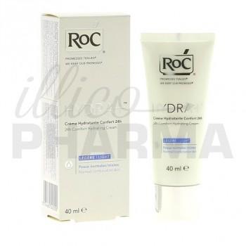 Hydra+ Confort 24h crème hydratante Roc 40ml