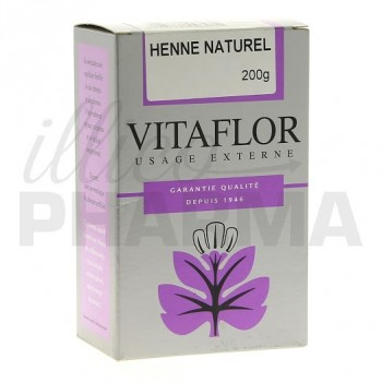 henn naturel vitaflor 200g - Coloration Pharmacie