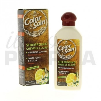 Color & Soin shampooing cheveux clairs
