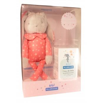 Klorane bébé Coffret lapin fille rose
