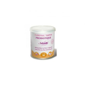Florgynal Tampon Probiotique 14 Mini by Saforelle