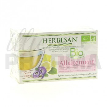 Infusion Allaitement N°7 Herbesan 20 sachets