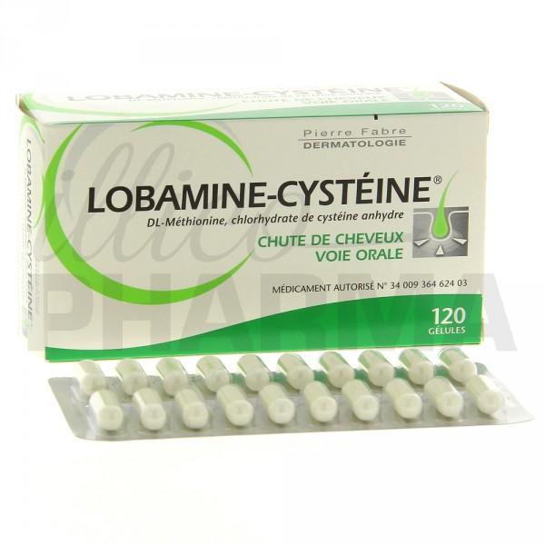 lobamine cyst ine 120 g lules pharmacie en ligne illicopharma. Black Bedroom Furniture Sets. Home Design Ideas