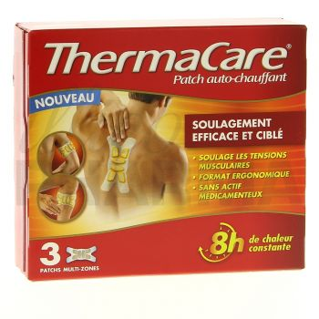 Thermacare Multi-zones - 3 patchs