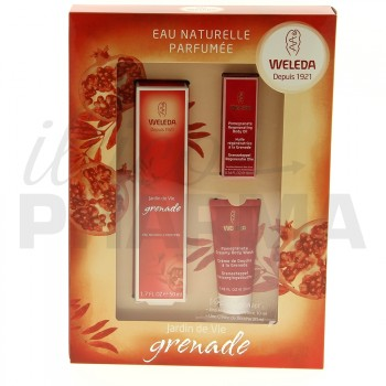 coffret eau naturelle parfum e jardin de vie grenade de weleda illicopharma. Black Bedroom Furniture Sets. Home Design Ideas