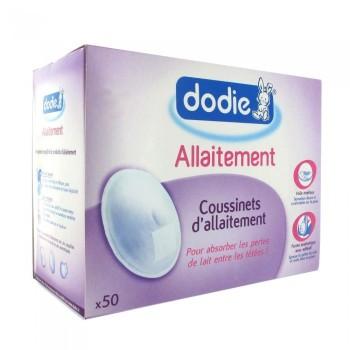 50 coussinets d'allaitement Dodie