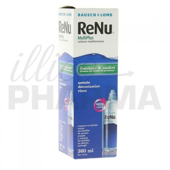 Renu multiplus solution lentilles 360ml