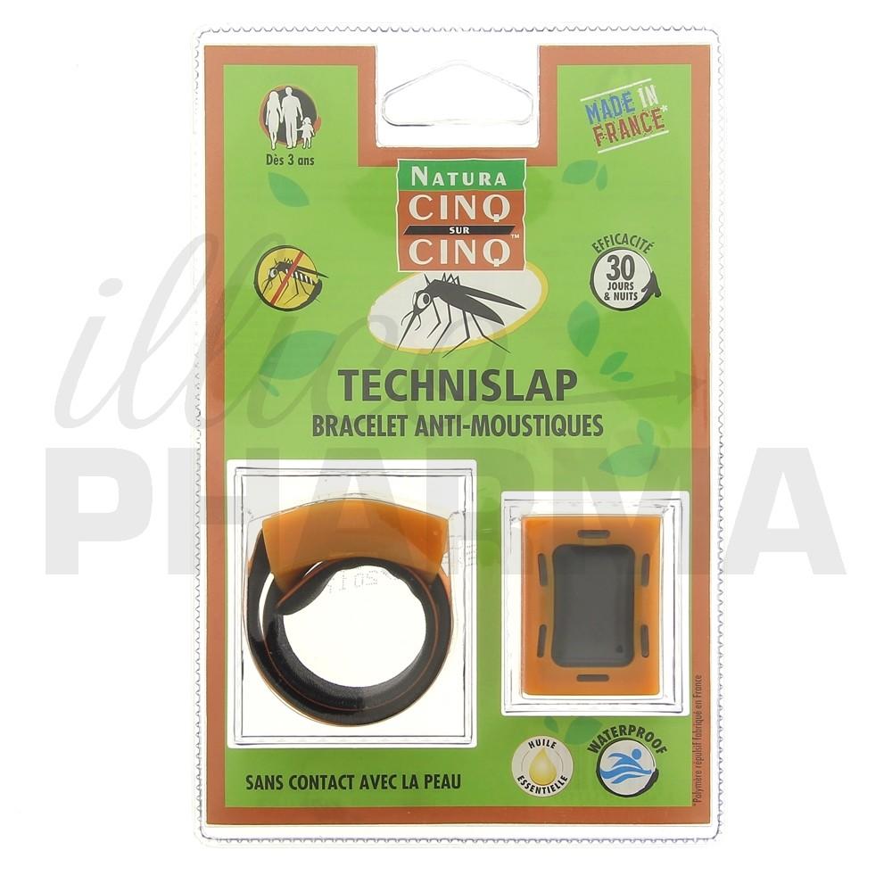 5/5 Bracelet anti,moustiques Technislap Zoom photo