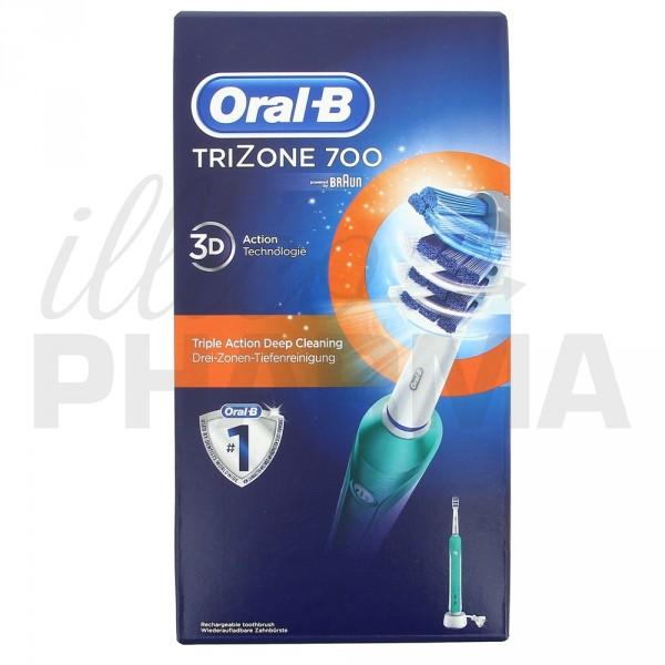oral b trizone 700 brosses dents lectriques. Black Bedroom Furniture Sets. Home Design Ideas