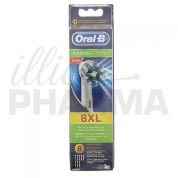 Brossette Oral-B Cross Action x8