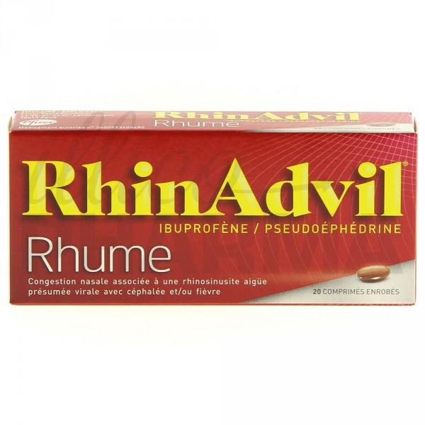rhinadvil rhume 20cpr m dicament rhume illicopharma. Black Bedroom Furniture Sets. Home Design Ideas