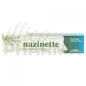 Nazinette du Dr Gilbert pommade nasale 12g