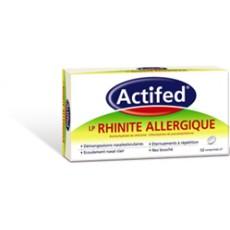 Actifed LP Rhinite Allergique 10cpr