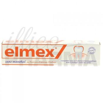 Elmex anti-caries sans menthol 75ml