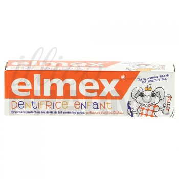 Elmex dentifrice enfant 2/6 ans 50ml