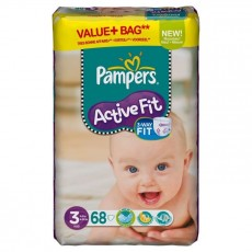 Pampers Active Fit 3 - 68 couches
