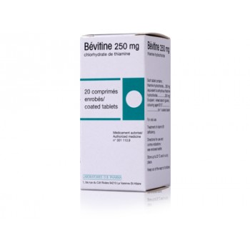 bevitine 250mg 20cpr m dicament vitamine illicopharma. Black Bedroom Furniture Sets. Home Design Ideas