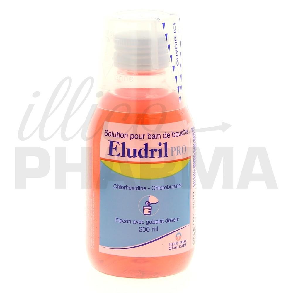 Eludril pro 200ml bain de bouche antiseptique pierre for Bain de bouche antiseptique maison
