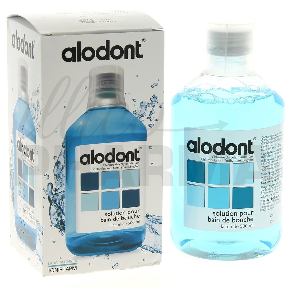 Alodont bain de bouche 500ml, Bain de bouche antiseptique