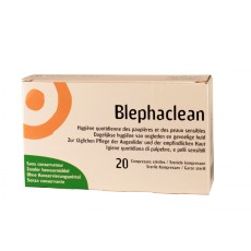 Blephaclean Compresse stérile x20