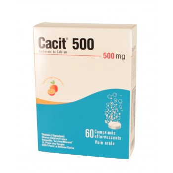 Cacit 500mg 60cpr effervescents