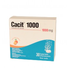 Cacit 1000mg 30cpr effervescents