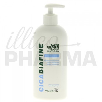 Cicabiafine Baume hydratant corps 400ml