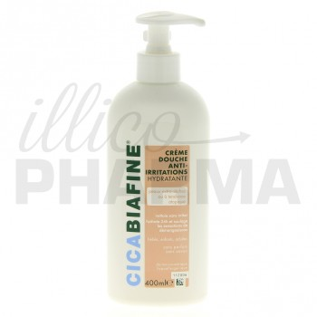 Cicabiafine Crème douche anti irritations 400ml