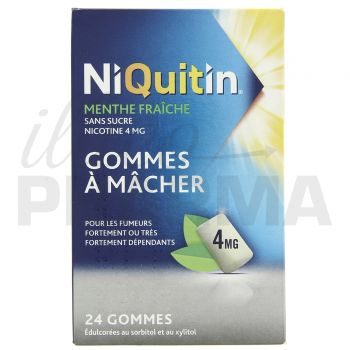 Niquitin 4mg menthe glaciale x30 gommes