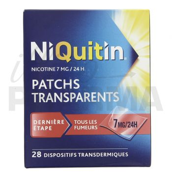 Niquitin 7mg x28 patchs