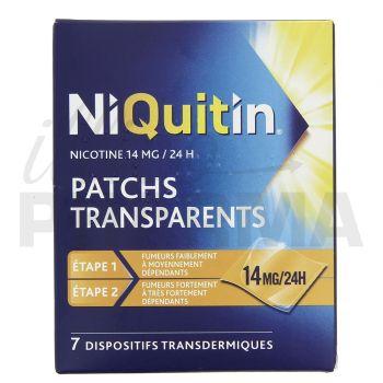 Niquitin 14mg x7 patchs