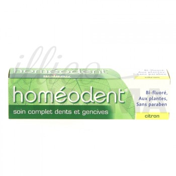 Homéodent dentifrice citron 75ml