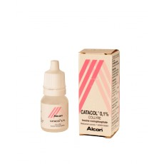 Catacol 0,1% Collyre 10ml