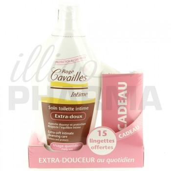 Soin Intime extra-doux 500ml + 15 lingettes offertes Rogé Cavaillès