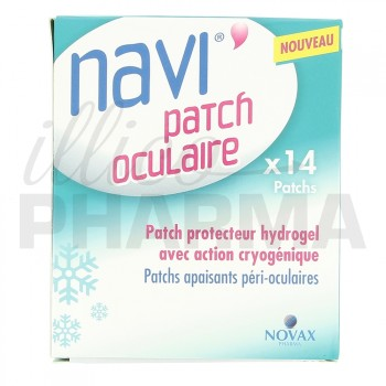 Navi Patch oculaire x14