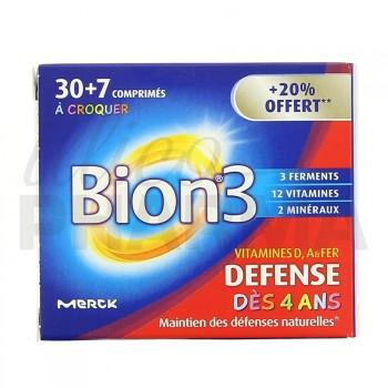 Bion 3 Défense Junior à croquer 30cp +20% offert